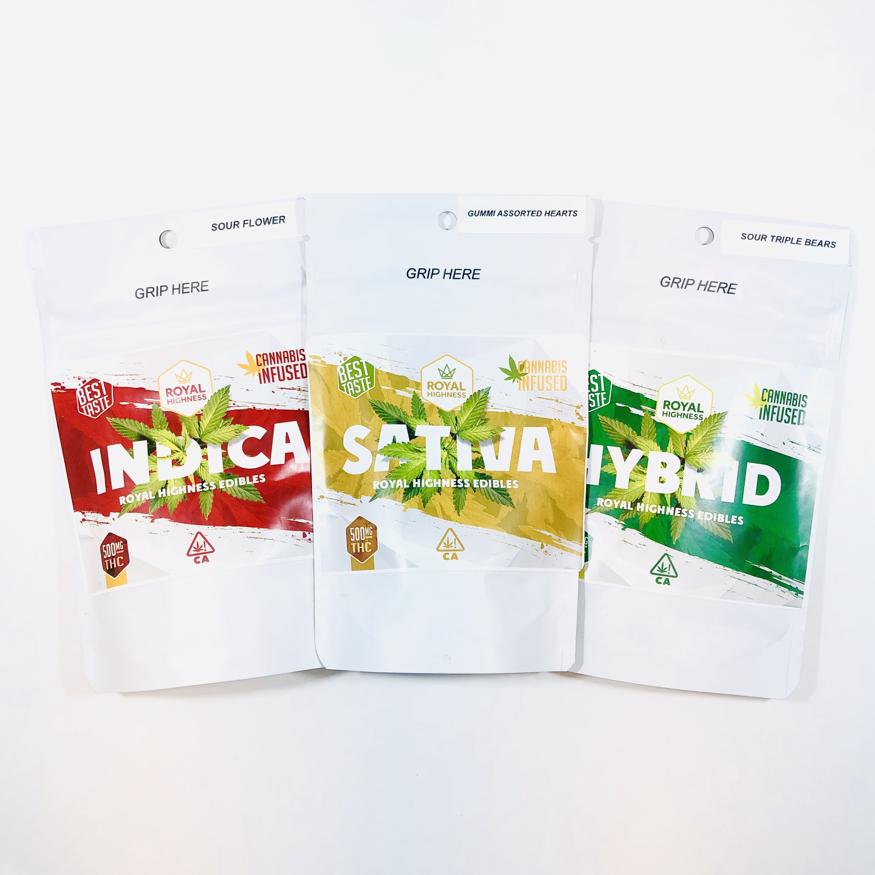 Thc gummy bears 500mg