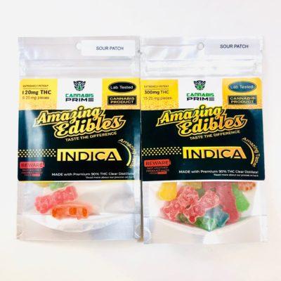 400mg Cannabis Gummy Edibles - The Loud Line